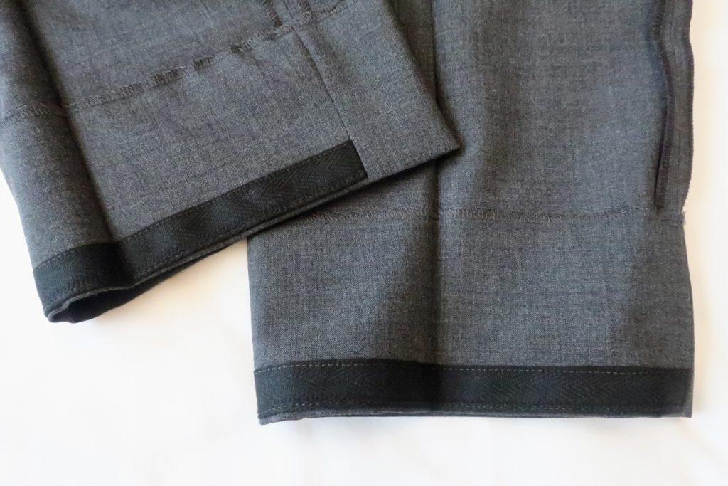 INCOTEXのアーバントラベラー裾内側