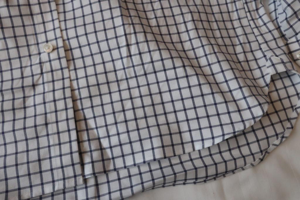 UNITED ARROWSのイージーケアシャツ着用後