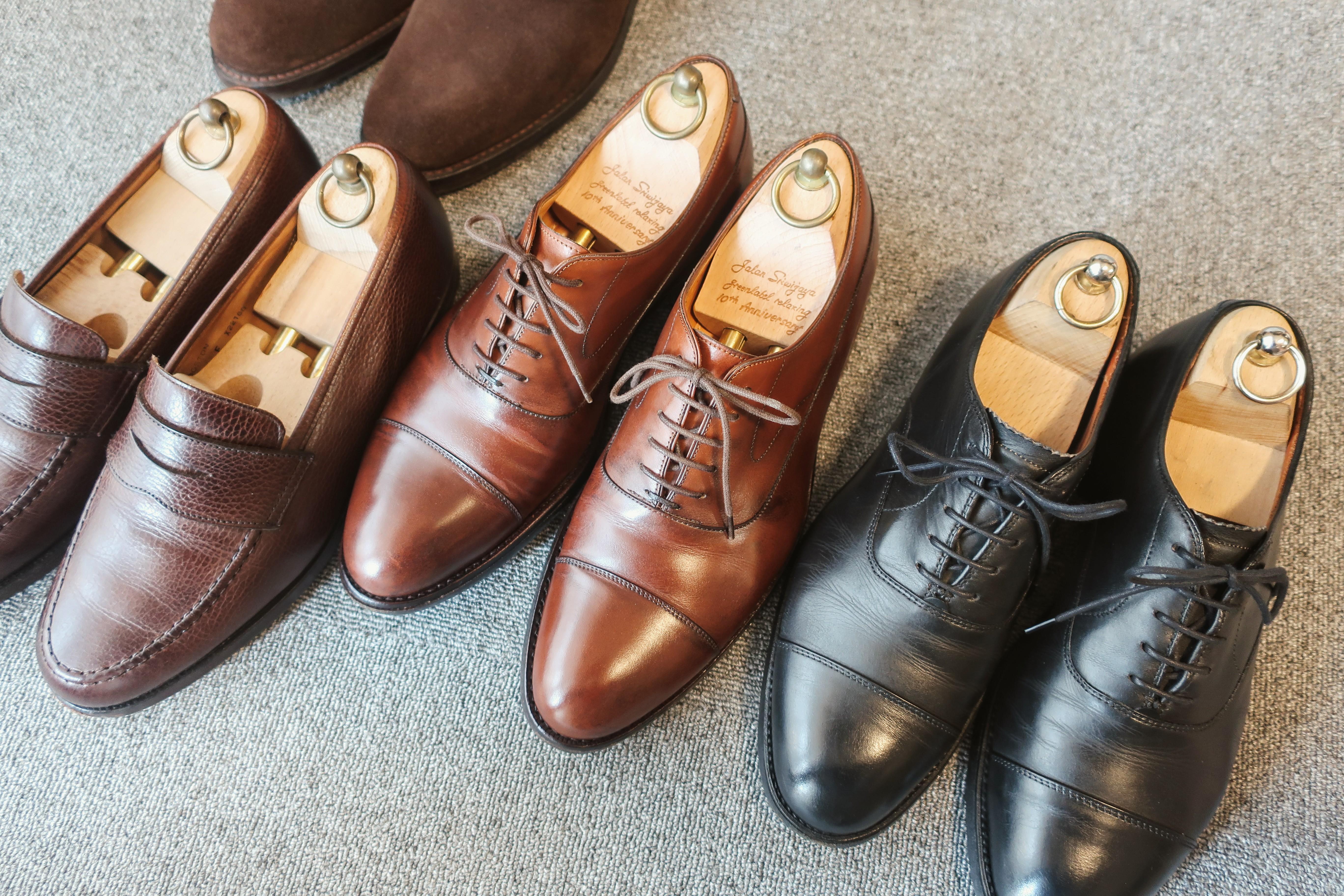サラリーマンが揃えるべき革靴