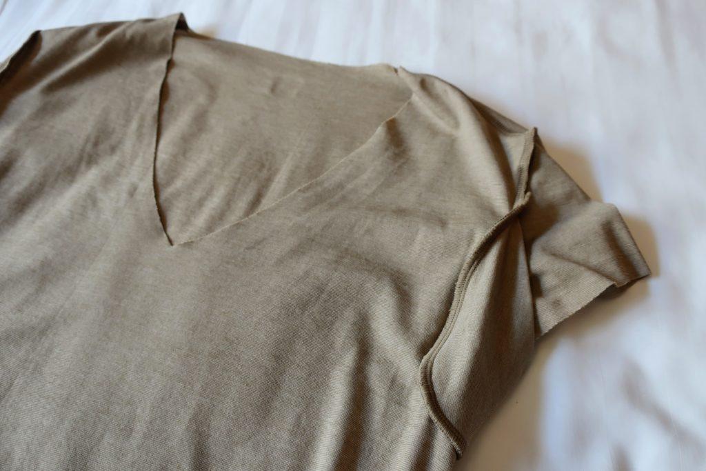 グンゼカットオフ下着の脇汗パッド