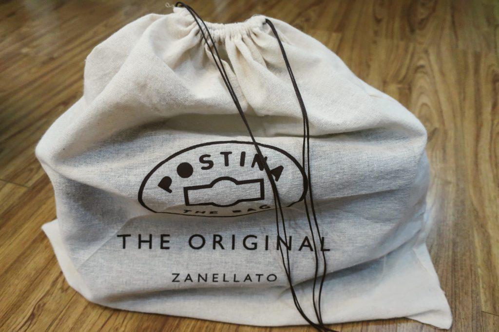 ザネラートのポスティーナM+の包装