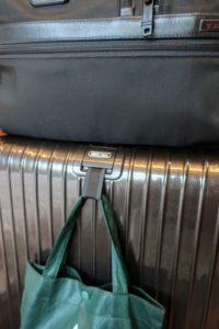 サルサデラックスのバッグホルダー