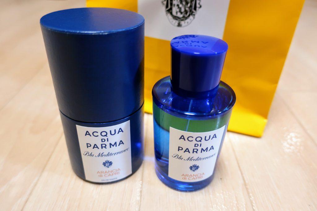 Aqua di Parmaの香水75mlサイズ