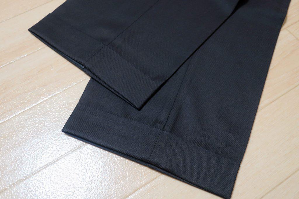 カルーゾのスラックス裾