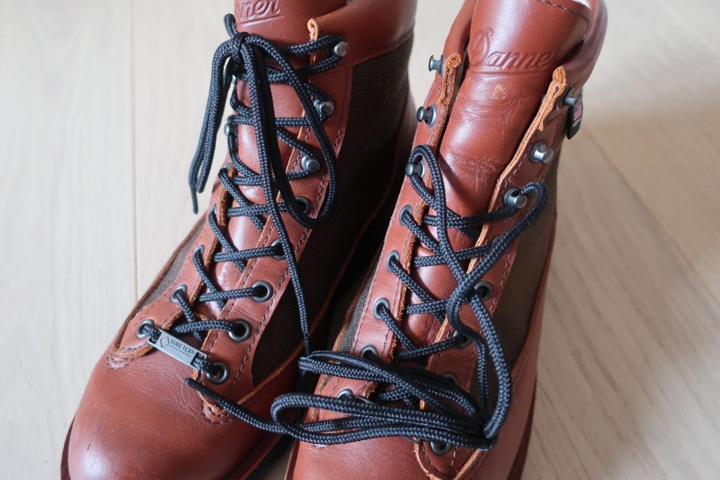 ダナーライトの靴紐